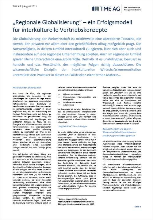 TME Whitepaper_Regionale Globalisierung