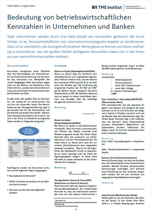 TME Whitepaper_Betriebswirtschaftliche Kennzahlen
