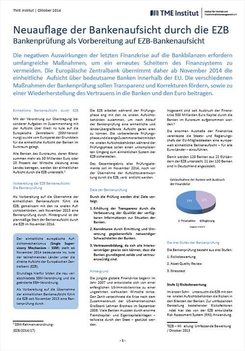 TME Whitepaper_Neuauflage der Bankenaufsicht