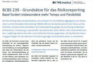 TME Whitepaper_Grundsätze des Risikoreportings_Beitrag
