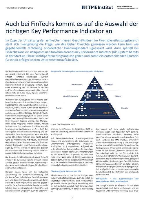 TME Whitepaper_KPI für FinTechs