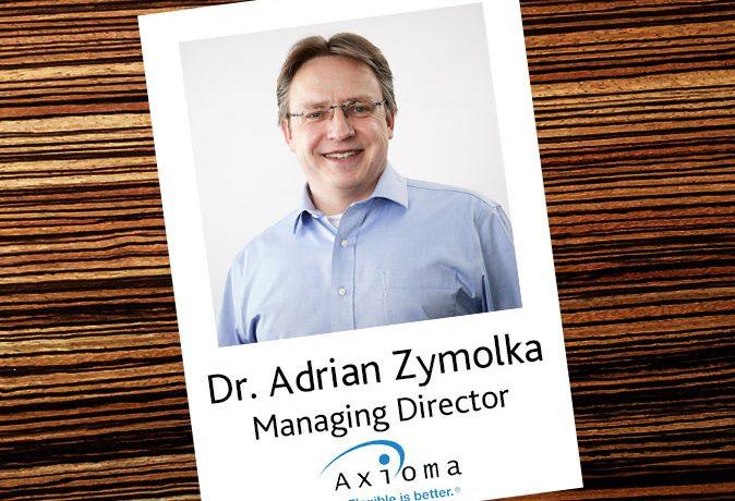 Interview mit Dr. Adrian Zymolka, Axioma