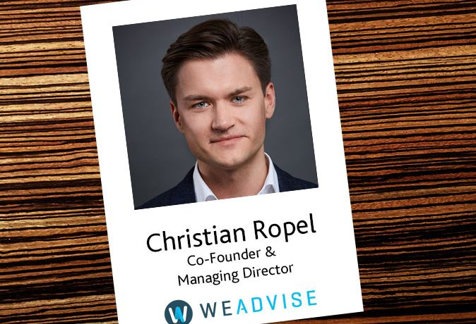 Interview mit Christian Ropel, WeAdvise AG