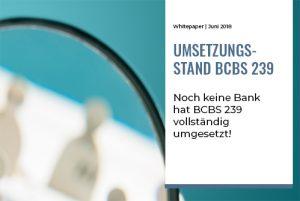 TME Whitepaper_BCBS 239 Umsetzungsstand