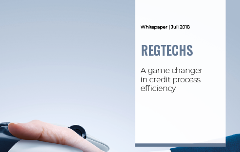 RegTechs: a game changer in credit process efficiency