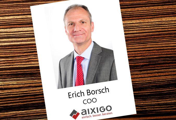 Interview mit Erich Borsch, Aixigo AG