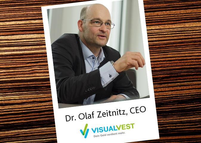 Dr. Olaf Zeitnitz, VisualVest