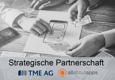 Strategische Partnerschaft mit all about apps