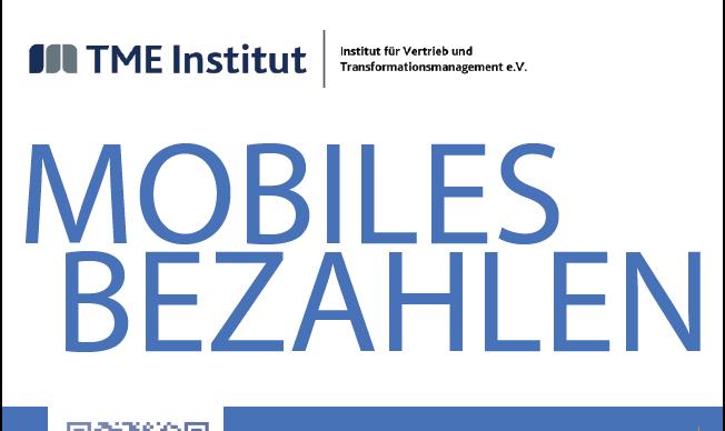 TME Studie: Mobiles Bezahlen