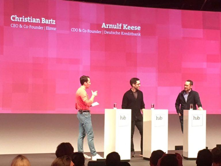 Hub Conference 2019_Chris Bartz und Arnulf Keese