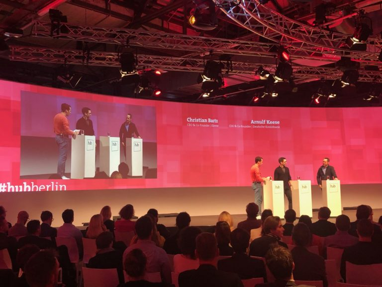 Hub Conference 2019_Chris Bartz und Arnulf Keese_02