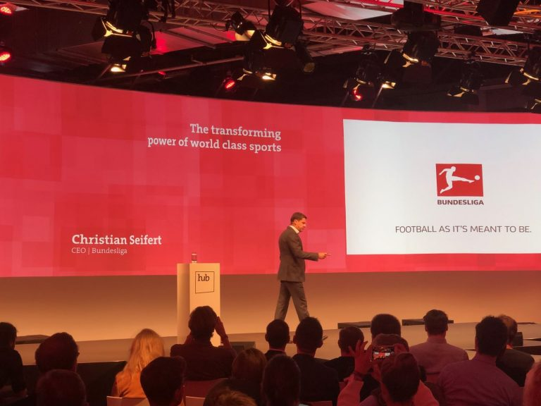 Hub Conference 2019_Vortrag_Christian Seifert_CEO_Bundesliga