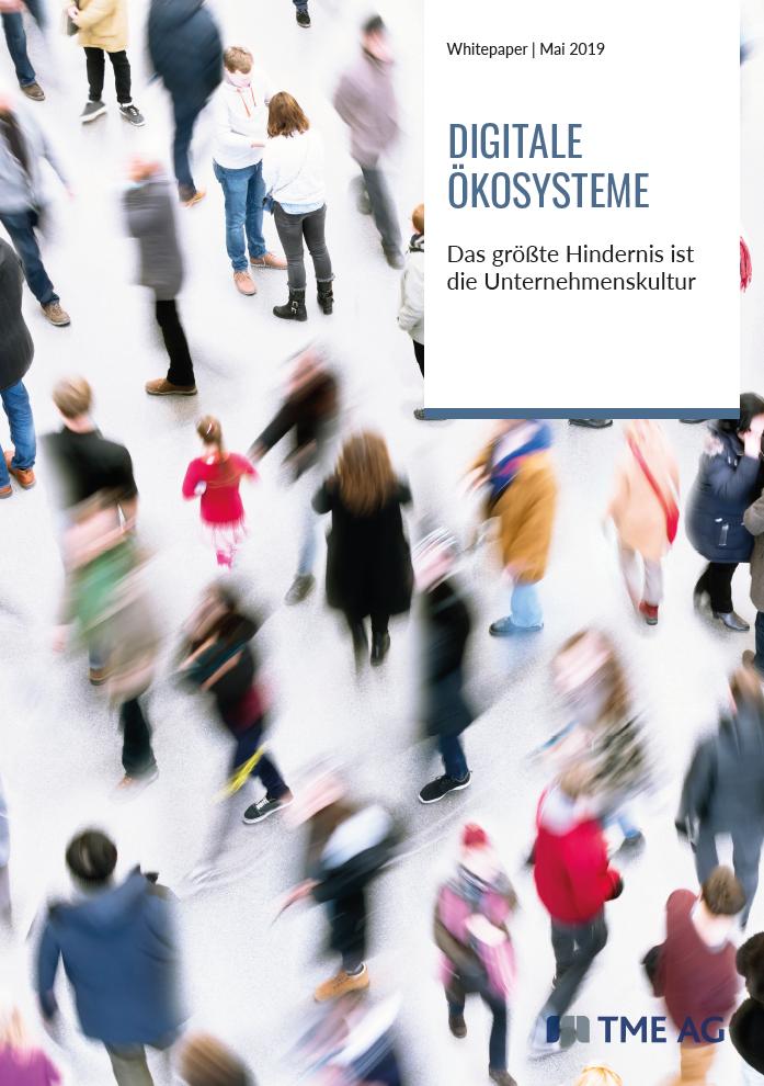 TME Whitepaper Digitale Ökosysteme - Hindernis Unternehmenskultur
