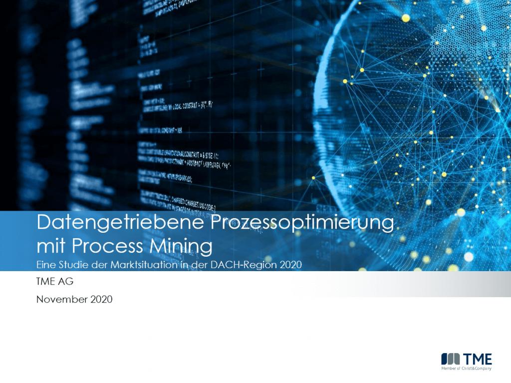 TME Studie Marktüberblick Process Mining_Nov 20