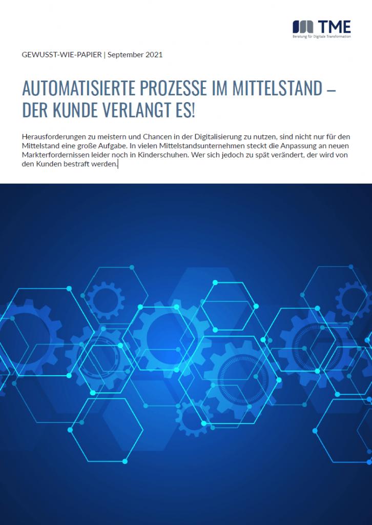 TME_Gewusst-wie-Papier_Automatisierte Prozesse im Mittelstand