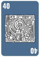TME Planning Poker - 40 Labyrinth