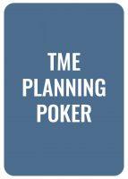 TME Planning Poker - Deckblatt